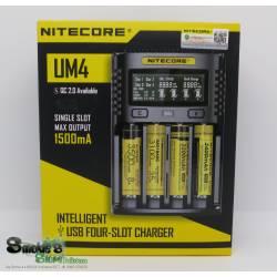 NITECORE- UM4 Intelligent Four Slot Charger