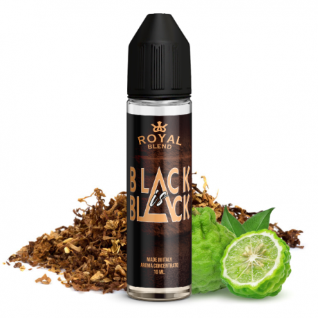 Royal Blend Black is Black - Vape Shot 10ml