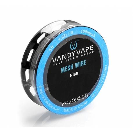 Vandy Vape Ni80 Mesh Wire - 100 mesh