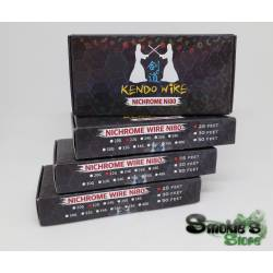 Kit KENDO filo + cotone Ni80 22G 25f