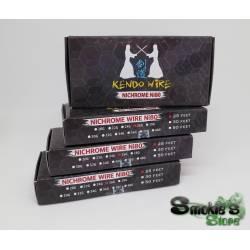Kit KENDO filo + cotone Ni80 26G 25f