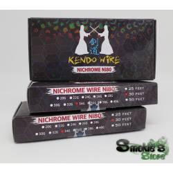 Kit KENDO filo + cotone Ni80 34G 30f
